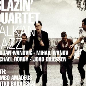 Blazin' Quartet Poster